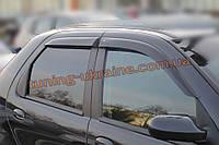 Дефлекторы окон (ветровики) COBRA-Tuning на FIAT ALBEA Sedan 2003-2012