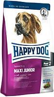 Happy Dog Supreme Maxi Junior 25/14 Хеппи Дог Суприм сухой корм для щенков Крупных пород от 9 до 18 месяцев