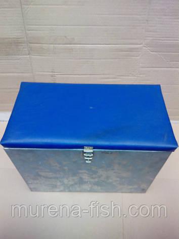 Ящик зимний Оцинкованный (д*ш*в 38*21*30 см), фото 2