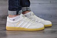 Кроссовки Adidas Spezia,белые  стильные, повседневные.