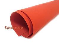 Фоамиран иранский (красный) 30*35см