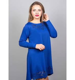 Женское платья Лучия цвет электрик размер 46-52, фото 2