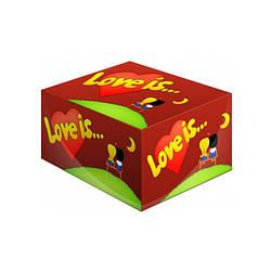Жвачка Love is Вишня и лимон 100 шт.