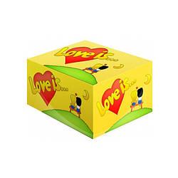 Жвачка Love is Кокос и ананас 100 шт.