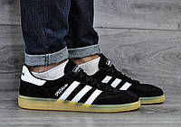 Кроссовки Adidas Spezia,черные  стильные, повседневные.
