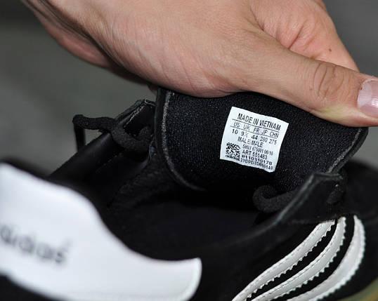 Кроссовки Adidas Spezia,черные  стильные, повседневные., фото 2