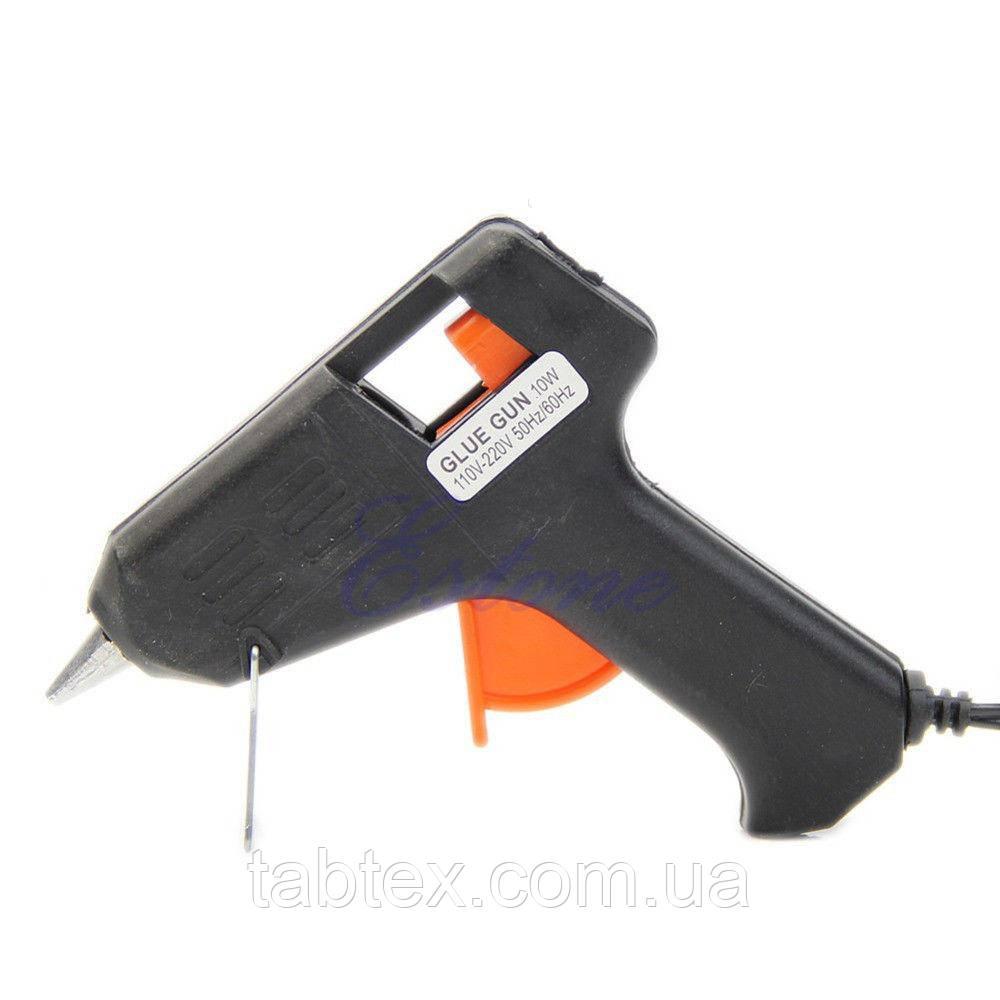 Термо-пистолет для силиконового клея 7,2мм,220в,10Вт