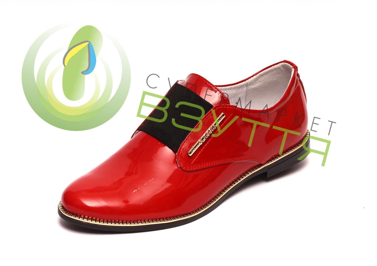 Туфлі червоні 38 розмір