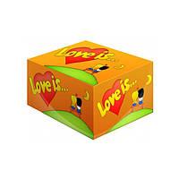 Жвачка Love is Ананас и апельсин