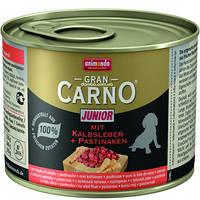 Animonda (Анимонда) Gran Carno Junior Консервы для щенков с телячьей печенью и пастернаком 200 г