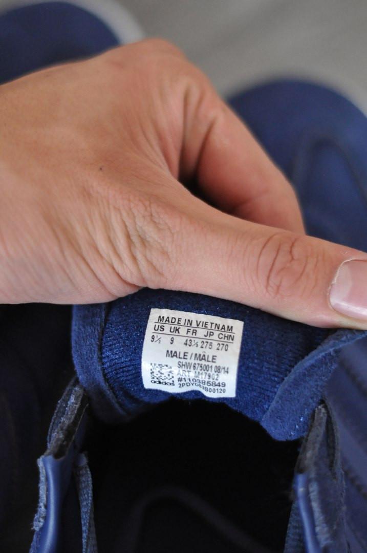 Кроссовки Adidas Spezia,синие   стильные, повседневные.