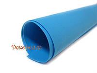 Фоамиран иранский (темно голубой) 60*70см