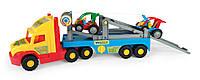 Машинка Эвакуатор с легковыми авто серия «Super Truck» Wader, 36530, Вадер