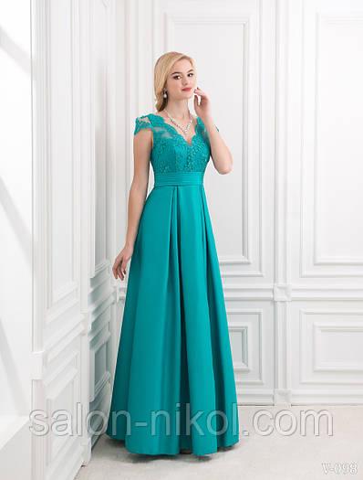 Вечернее, выпускное платье V-098