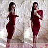 Облегающее платье-шнуровка(цвета), фото 2