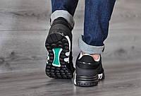 Кроссовки Adidas Eqt ,черные стильные, повседневные.