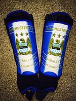 Щитки футбольные клубные с голеностопом MANCHESTER CITY