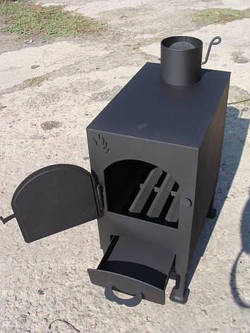 """Буржуйка """"Трёшка"""", сталь 3мм (дровяная печь), фото 2"""