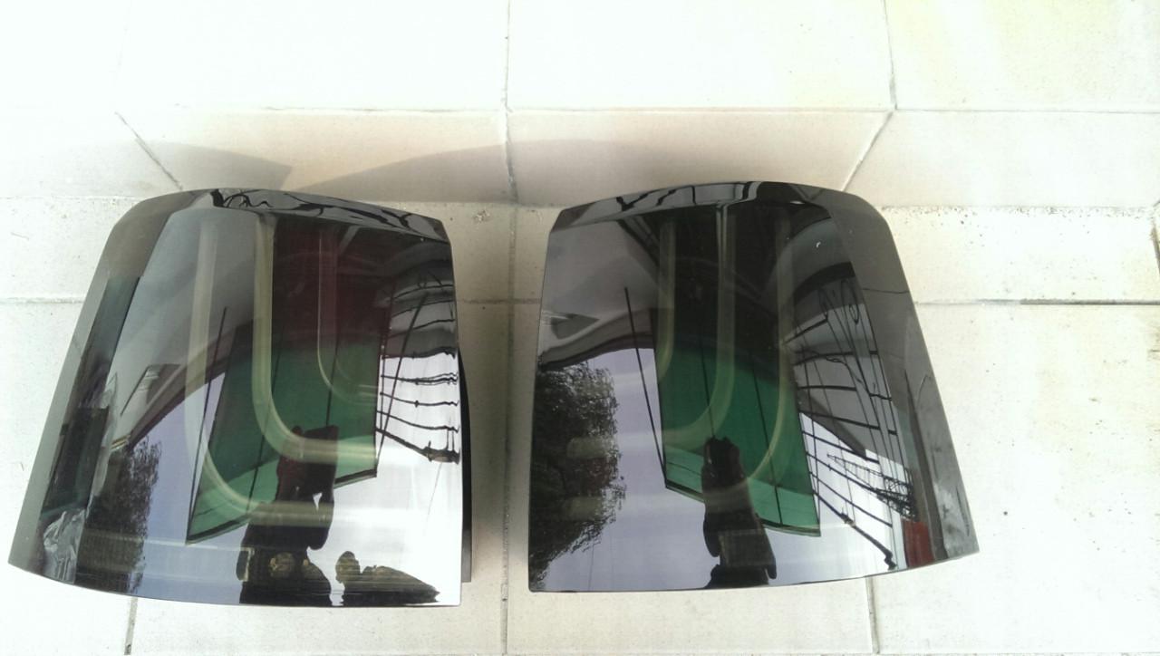Задні ліхтарі в стилі Glohh Smoke на Range Rover Sport 2009-2013