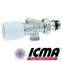 Icma 869 терморегулирующий вентиль 2-х угловой 1/2 х 1/2