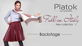 Backstage Новая коллекция шарфы осень 2016 Fall in Italy