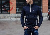 Мужской анорак Brat темно-синий, куртка