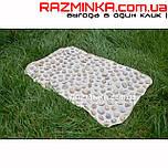 Массажный коврик из камней 60х40см