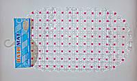 """Антиковзаючий килимок у ванну 67х37см """"точка"""", фото 1"""