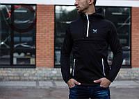 Анорак Brat черный, куртка мужская