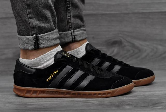 Adidas Hamburg черные цвета