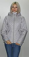 Женская демисезонная куртка  КС-3 сталь 40-52 размеры