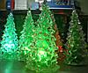 """Светодиодный светильник """"новогодняя елка"""" 12см. Видео."""