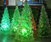 """Светодиодный светильник """"новогодняя елка"""" 12см. Видео., фото 1"""