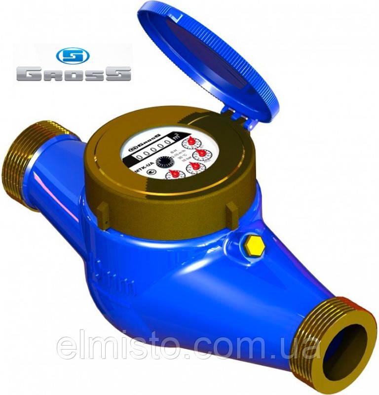 Лічильник GROSS MTK-UA Dn40, L=300мм, Qn=16,0 m3/год багатоструменевий на холодну воду