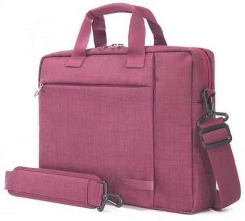 """Женская компактная сумка для ноутбука 15,6"""" Tucano SVOLTA BAG PC (BURGUNDY) BSVO15-BX бордовый"""