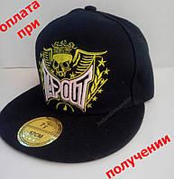 Мужская кепка, Snapback с прямым козырьком, бейсболка, рэперка, хип хоп TapOut