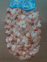 Коврик силиконовый ракушка Ракушка бежевый