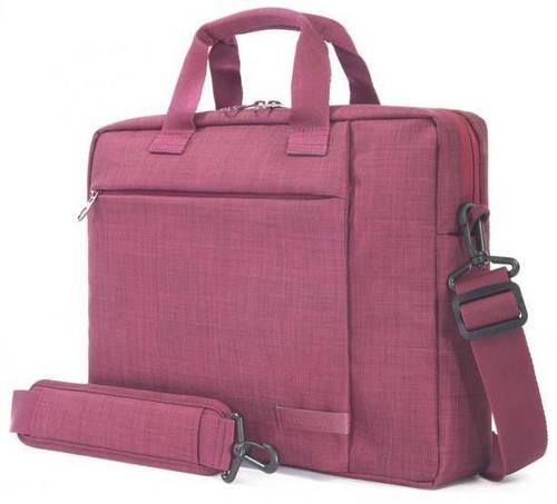 """Замечательная женская сумка для ноутбука Tucano SVOLTA SLIM BAG PC 11.6""""/12.5"""" (BURGUNDY) BSVO1112-BX бордовый"""