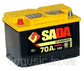 Аккумулятор SADA Standard 6СТ- 70Аз STD