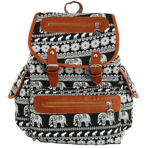 Городской интересный рюкзак 15л. Traum 7224-25 черный