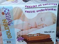 Электропростынь Турция 120*160 ОРИГНАЛ флисовая