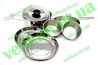 Набор посуды из нерж. cтали Tramp (1,7)TRC-001