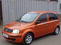 Дефлекторы окон (ветровики) COBRA-Tuning на FIAT PANDA 2 2003-2012