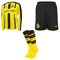Футбольная форма с длинным рукавом Puma  Borussia Dortmund  16-17
