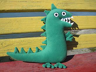 Мягкая игрушка  ручной работы Мистер Динозавр поросенка Джорджа 30 см