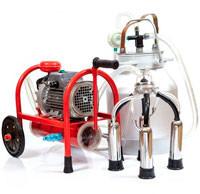 Домашние доильные аппараты с сухим вакуумным насосом (Доярочка, Буренка)