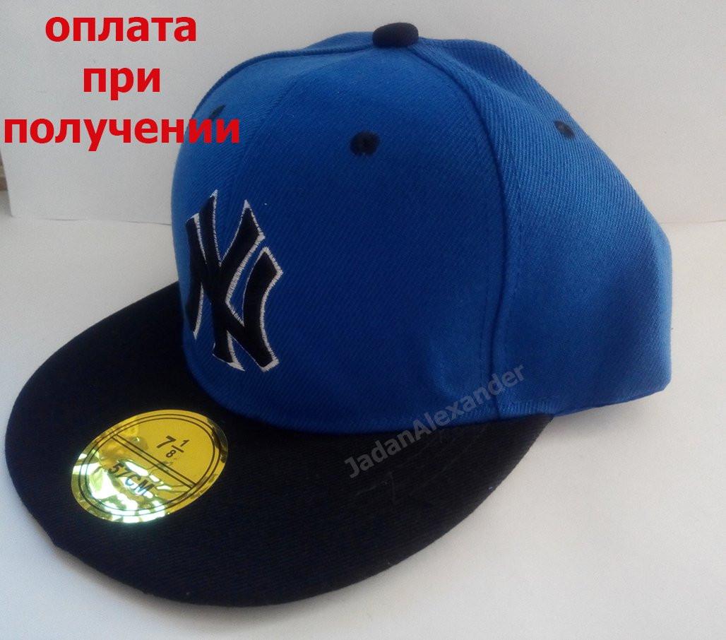 Мужская кепка, Snapback с прямым козырьком, бейсболка, реперка, NY New York