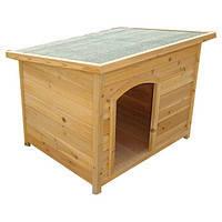 Будка для собаки с откидной крышей