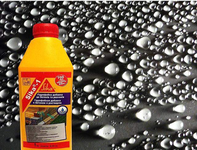 Гидроизолирующие, влагоизолирующие добавки в бетон, стяжки штукатурки.