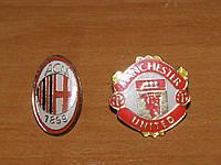 Значки-эмблемы футбольных клубов